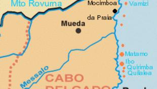 Província de Cabo Delgado, no norte do Moçambique (imagem e ilustração)