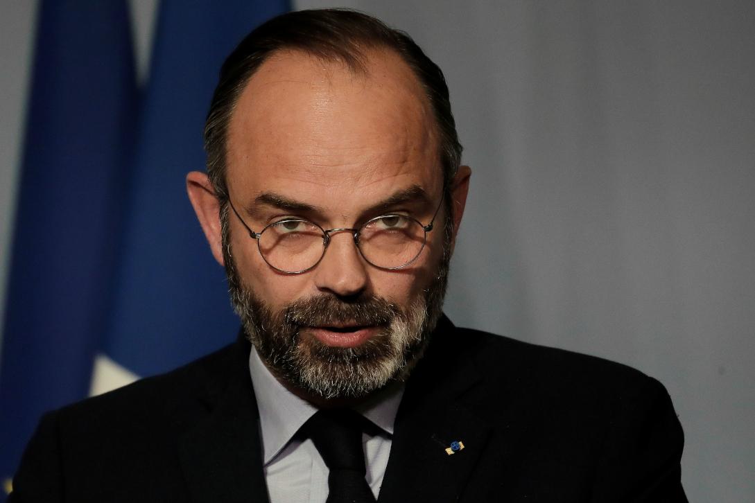Edouard Philippe primeiro ministro francês pondera levantar o confinamento dos franceses instaurado por causa do coronavírus