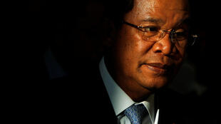 柬埔寨总理洪森 资料照片