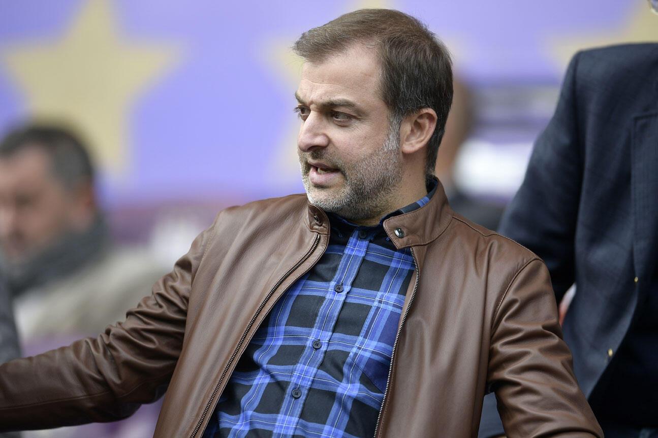 مجتبی بیات مدیر کل پیشین باشگاه فوتبال «شارلروا» که اینک واسطۀ خرید و فروش و انتقال بازیکنان فوتبال است - عکس بروکسل ١٨ سپتامبر ٢٠١٨
