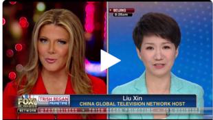 美中女主持翠西·里根與劉欣就貿易戰進行辯論,2019年5月30號