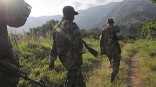 Les soldats rwandais en RDC, le 22 janvier 2009 (image d'illustration).