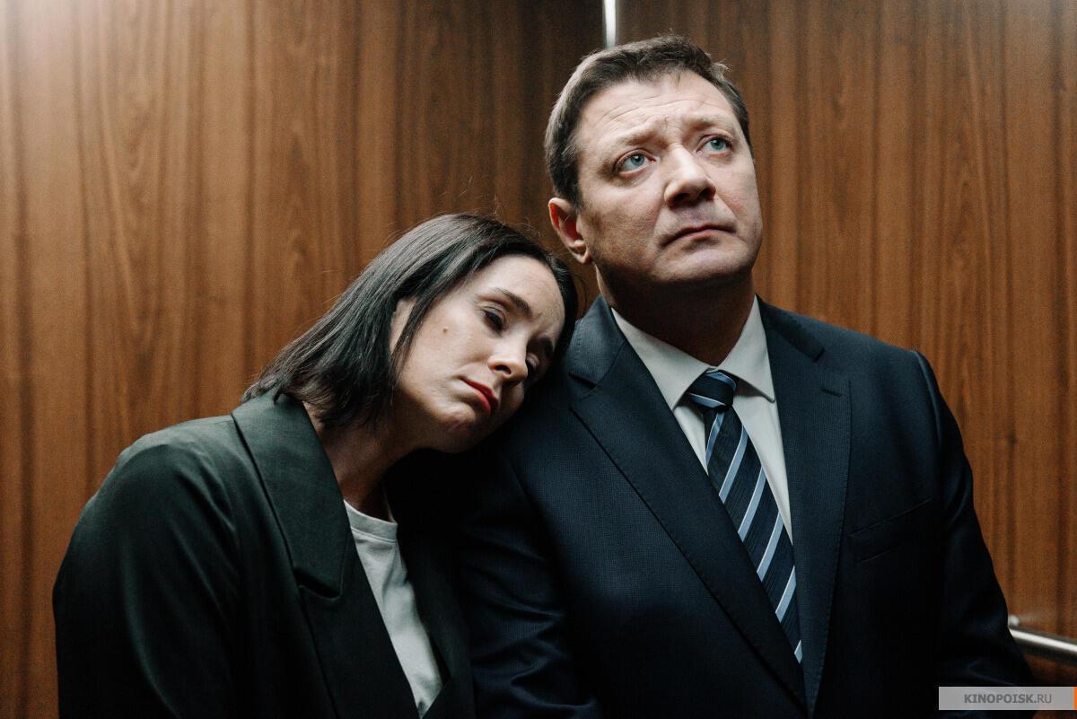 Ольга Сутулова и Ян Цапник в сериале «Последний министр»