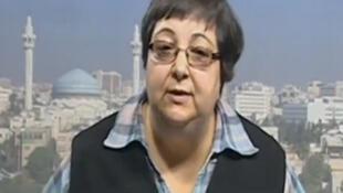 Rula Qawas, professeure à la faculté des langues étrangères de l'université publique de Jordanie.