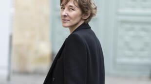 Portrait de la romancière Ann Scott, à l'occasion de la sortie de son nouveau roman «Cortex», paru chez Stock.