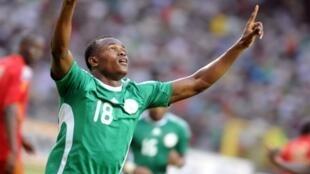 Le Nigérian Victor Nsofor Obinna.