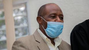 L'opposant rwandais Paul Rusesabagina à Kigali le 14 septembre 2020.