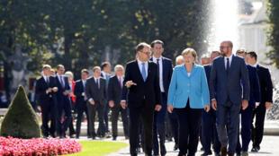 Cuộc gặp không chính thức giữa lãnh đạo các nước Liên Hiệp Châu Âu tại Salzburg, Áo, ngày 20/09/2018