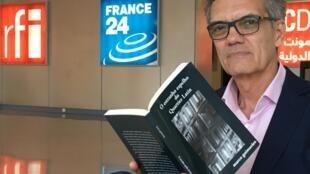 O escritor carioca Marco Guimarães foi entrevistado pela RFI, em Paris, nesta quarta-feira, 5 de abril de 2017.