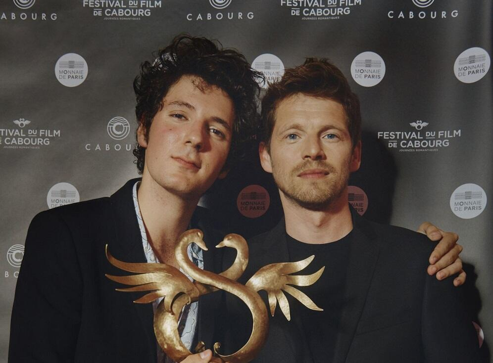 Vincent Lacoste and Pierre Delandonchamps co-winners of Best Actor Swann d'Or 2018