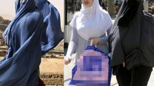 Wasu mata Musulami sanye da hijabi a kasar Faransa