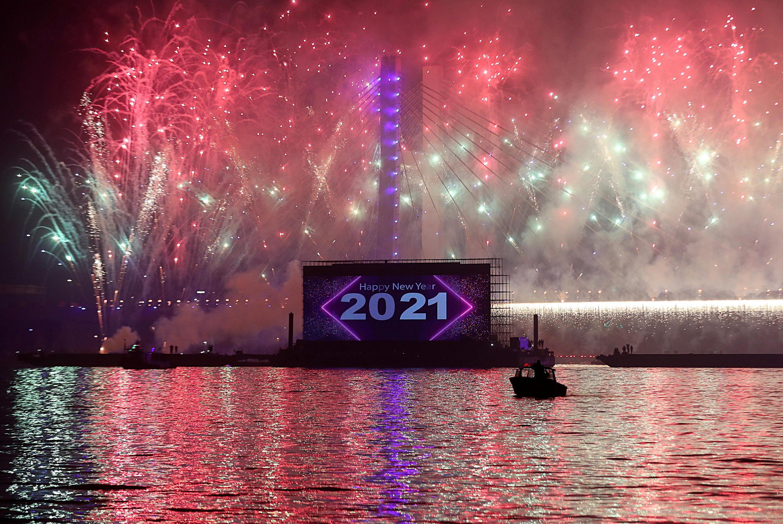 célébrations nouvel an 2021 Le Caire Egypte Égypte
