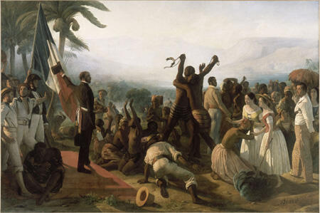 Abolition of Slavery in French Colonies, 1848.