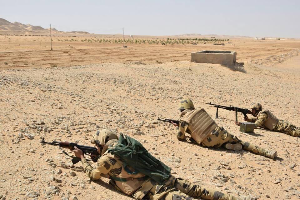 Dakarun Masar a fagen-daga a yankin Sinai