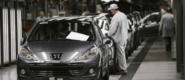A PSA Peugeot-Citroën factory