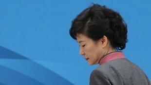 Park Geun-hye, le 3 avril 2013 à Séoul.