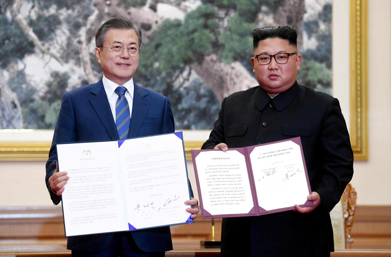Лидеры двух стран также объявили, что подадут совместную заявку на проведение Олимпиады в 2032 году.