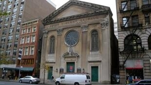 The French church in Chelsea, Manhattan