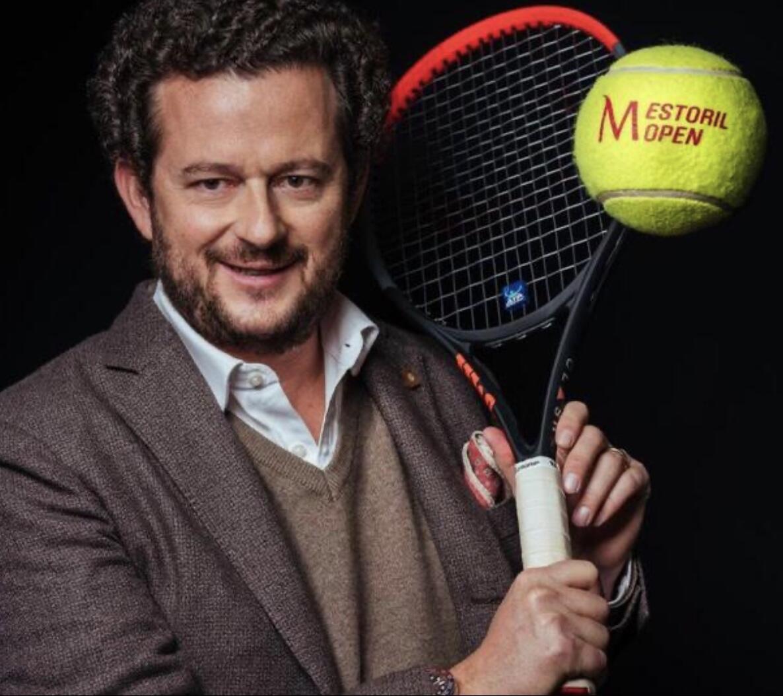 João Zilhão, director do torneio português Millennium Estoril Open.
