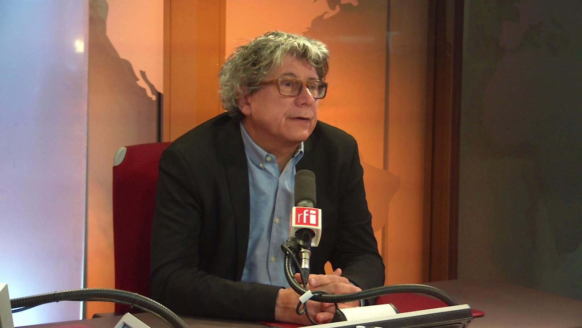 Eric Coquerel sur RFI le 9 avril 2018.
