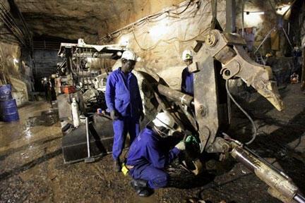 Areva uranium mine in Arlit, Niger