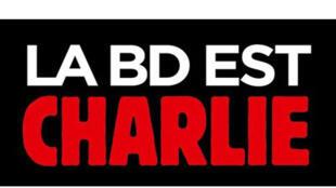 Détail de la couverture du livre «La BD est Charlie».