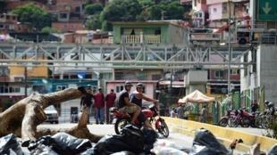 圖為委內瑞拉首都街景