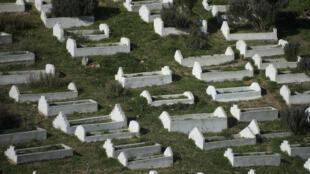 Cimetière Ceuta - enclave - espagne