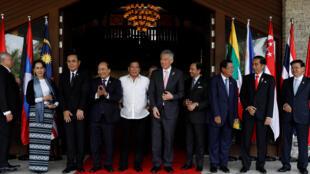 Lãnh đạo các nước Hiệp Hội Các Nước Đông Nam Á tại thượng đỉnh ASEAN lần thứ 30, Manila, Philippines, ngày 28/4/2017.