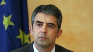存檔圖片:保加利亞總統普列夫內利耶夫