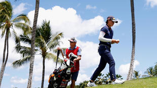 Yuka Saso of the Philippines shared the lead in the first round of the LPGA Lotte Championship in Hawaii