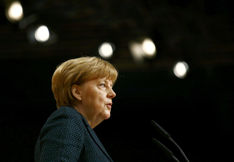 Theo báo chí Đức, Thủ tướng Merkel tìm cách tăng áp lực lên cử tri Hy Lạp, không nên bỏ phiếu cho đảng cực tả - REUTERS /Kai Pfaffenbach