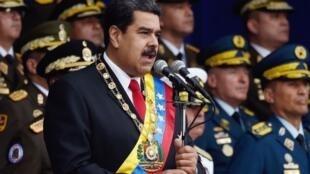 Shugaban kasar Venezuela Nicolas Maduro