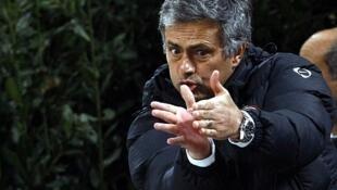 José Mourinho. kocin Real Madrid a spain