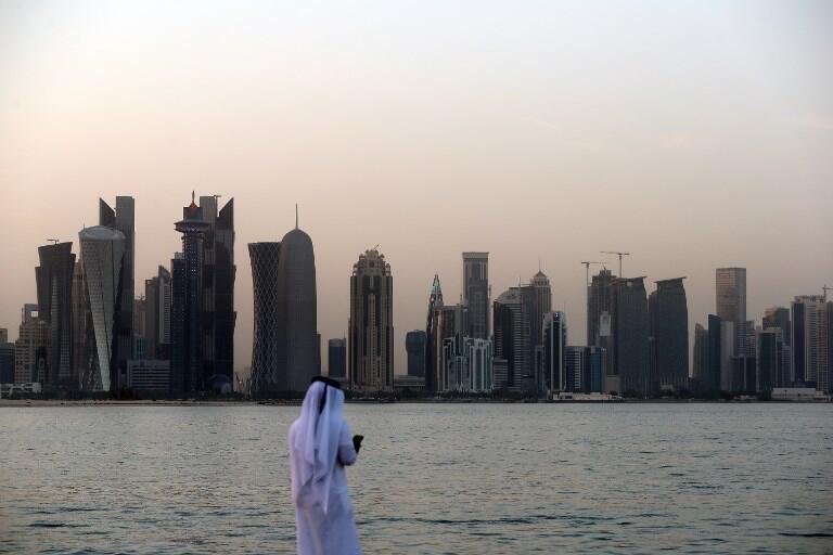Doha, capital do Qatar.