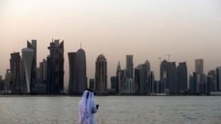 Doha, mji mkuu wa Qatar.