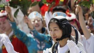 Liu Yang tem 33 anos e é piloto de caça.