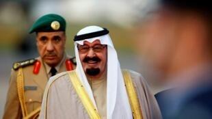 Sarkin Saudiya Salman bin Abdul'aziz.