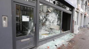 Последствия бепорядков в Брюсселе после выхода Марокко на чемпионат мира по футболу, 12 ноября 2016 г.