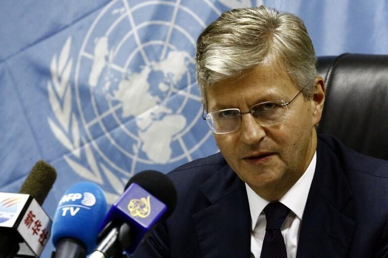 Jean-Pierre Lacroix, secrétaire général adjoint de l'ONU en charge des opérations de maintien de la paix (photo d'illustration juillet 2017).