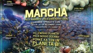 Grupo da Enseada da Laginha, em S. Vicente, Cabo Verde, organiza marcha de apoio ao movimento mundial ambientalista
