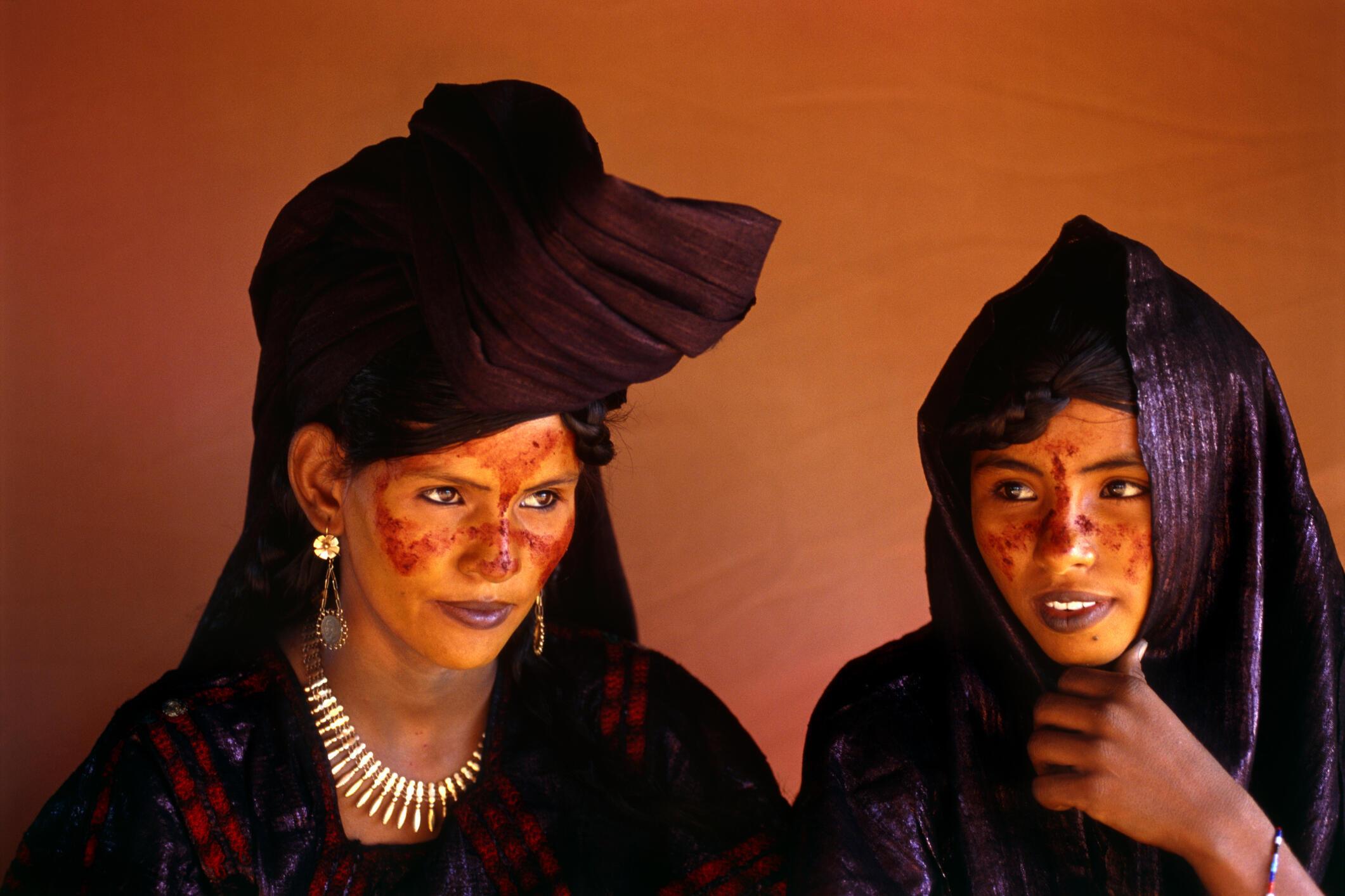 Wasu matan abzinawa daga jihar Agadez na Jamhuriyar Nijar