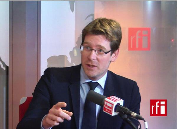 Pascal Canfin, ministre délégué auprès du ministre des Affaires Etrangères, chargé du Développement.