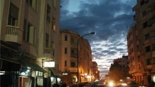 Downtown Rabat, Morocco