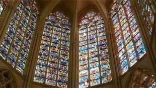 布爾日大教堂彩畫玻璃 Cathédrale de Bourges