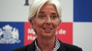 IMF boss and former minister Christine Lagarde