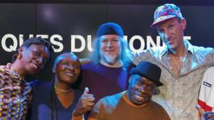 Kiala & The Afroblaster x Julia Sarr à RFI.
