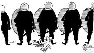 Cartoon by Michel Cambon