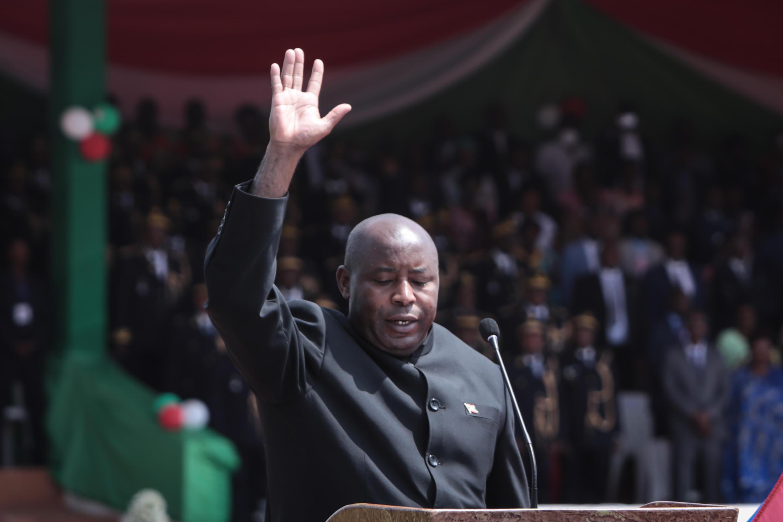 Burundi's new President Evariste Ndayishimiye says the government is now committed to fighting the new coronavirus