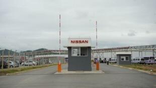 Inauguração de fábrica de automóveis da Nissan
